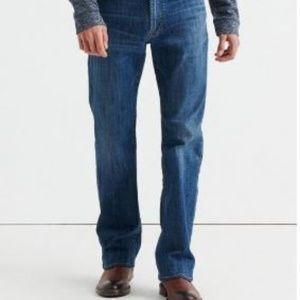 LUCKY BRAND Dark Jeans 42 x 36 Big + Tall